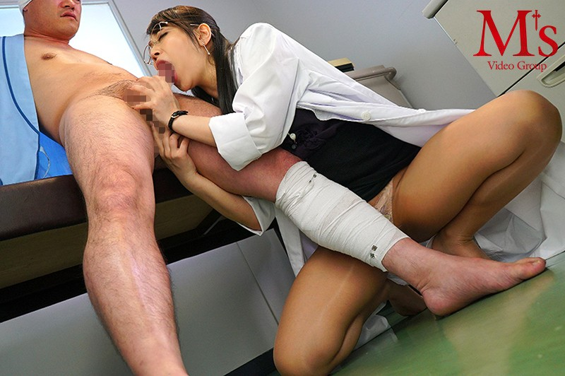 [MVSD-394] A Semen-Addicted Married Woman Slut Doctor Who Will Drink Down Her Patients' Cum Is Giving Out Vacuum-Powered Cum Swallowing Treatment The Medical Semen Eater Doctor Kohinata Mai Kohinata