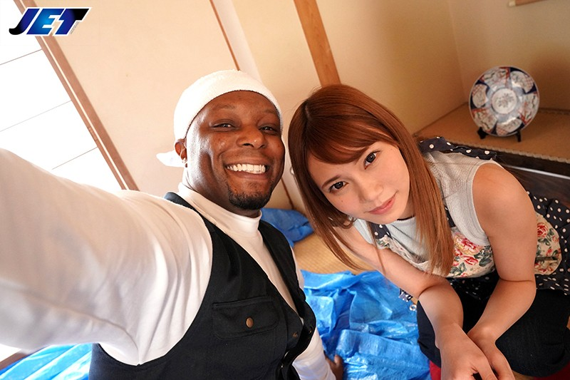 NGOD-101 Black Man Interior Cheating Wife Gets Her Interior Done By Black Guy With Shiny Black Cock Who Came To Japan Because Of Relaxed Immigration Laws Rin Sasahara