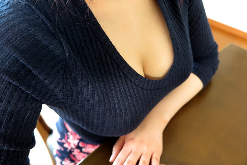 NGOD-107 Clothed Big Tits NTR She Was Fondled While Still Clothed