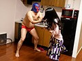 The Nightmare Was Real: I Was Relaxing Happily With My Wife in the Living Room When a Giant Masked Wrestler Burst In and Overpowered Her. All I Could Do Was Watch and Wait Until He Ejaculated. preview-6