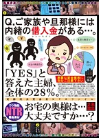"Question: Do You Have Any Debts That You've Kept Hidden From Your Family Or Husband? 28% Of Housewives Answered ""Yes"" Is Your Wife... Safe...? 下載"