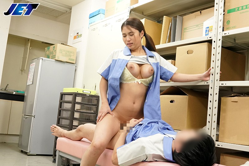 NKKD-117 Cuckolding In The Back Office. A Married Part