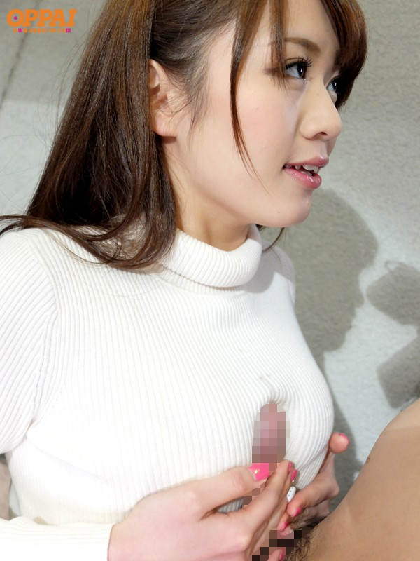 PPPD-285 Studio OPPAI Colossal Tits Covered in Different Clothes, Sweater, Knit Situation as Seen in Town Eri Hosaka - big image 1
