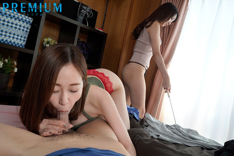PRED-211 I Had A Slutty Reverse Threesome With My Sister-In-Law While My Wife Was Absent… Yu Shinoda Kurea Hasumi