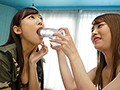We're Going To Dirty These Beautiful Faces With Our Cum! Double Upside-Down Deep Throat Blowjob Ejaculation Rin Sasahara Ai Hoshina preview-10