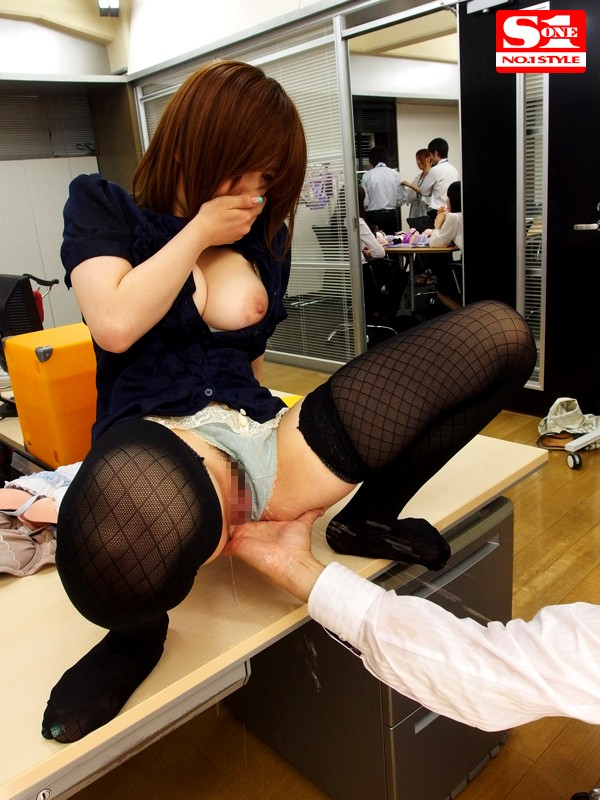 SNIS-281 Forced To Model Underwear.... Saki Okuda