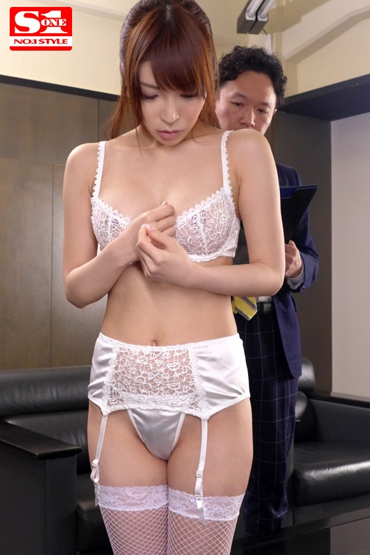 SNIS-408 Made to Model Underwear... Aya Sakurai