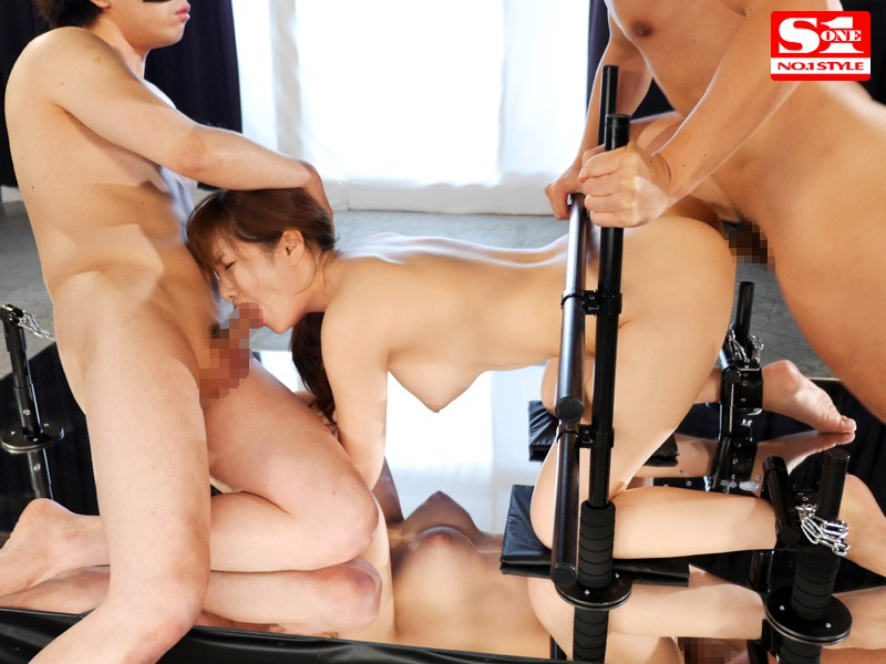 SNIS-636 Aoi's Tied Down So She Can't Move A Muscle - Her Pussy Pounded Non-Stop - She Cums So Hard Her Hips Look Like They'll Break