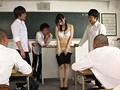 I'm A Rookie Teacher,And My Titty-Loving Students Turned Me Into Their Toy. I Had To Teach Naked In Front Of The Whole Class. Miku Akari preview-4