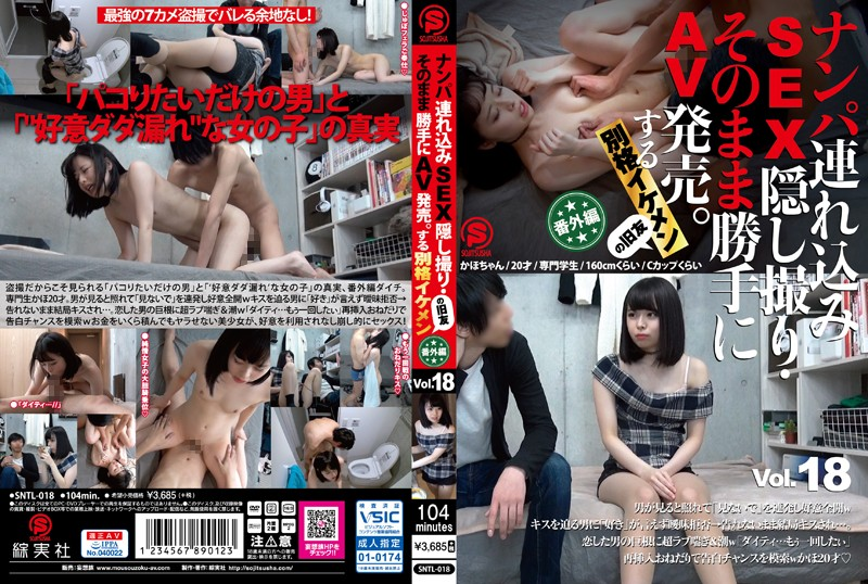 SNTL-018 Take Her To A Hotel, Film The SEX On Hidden Camera, And Sell It As Porn. My Extremely Handsome Old Friend vol. 18