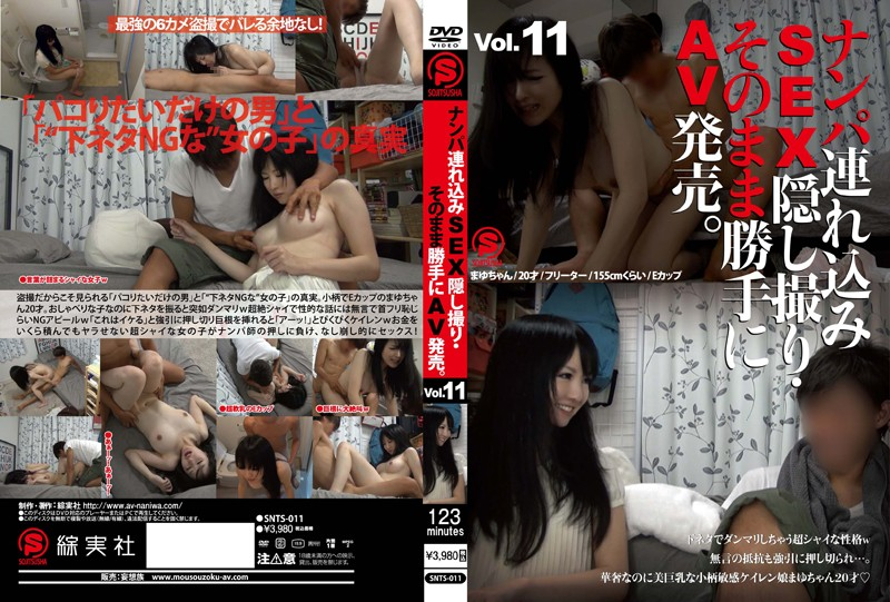SNTS-011 jav stream Take Her to a Hotel, Film the SEX on Hidden Camera, and Sell it as Porn. vol. 11