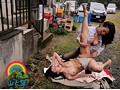 Exhibitionist Breaking In - Pissing Lesbians Akemi Horiuchi Rei Kitajima Sakurako Ikegami preview-9