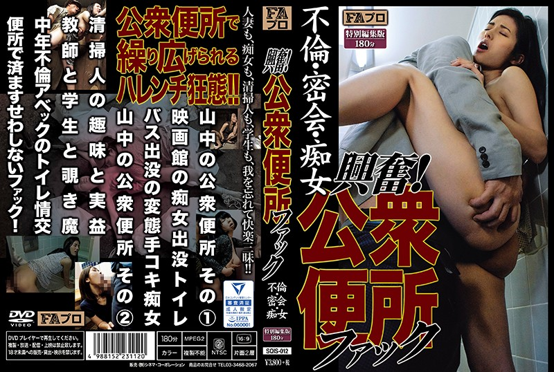 SQIS-012 asian xxx Kinky! Cheating Slut Fucks in a Public Toilet