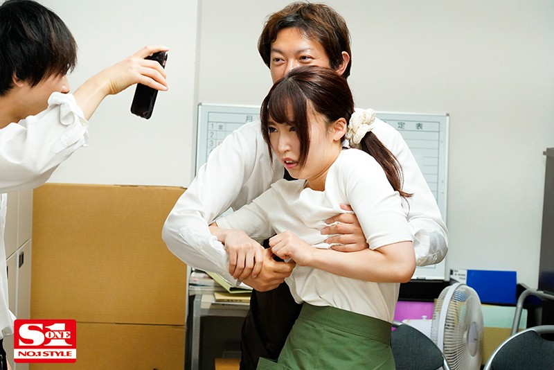 """SSIS-047 """"I'm So Sorry…"""" My Coworker Tried To Protect Me From Being Bullied At Work, But I Got Hard When The Mean Guys Took It Out On Her Body Mai Shiomi"""