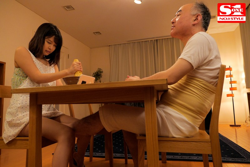 SSNI-012 While Her Husband Was Away For A Week, This Young Wife Was Driven Cock Crazy After Her Father-In-Law Kept R****g Her Tsukasa Aoi