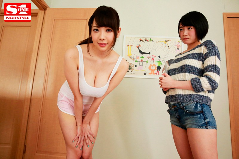 [SSNI-241] My Girlfriend's Big Sister Is Prancing Around Without Her Bra On, Trying With All Her Might To Seduce Me, And I Gave In To Her Temptation, Because I'm A Piece Of Shit RION