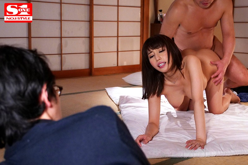 SSNI-252 I Keep Getting Fucked Before Your Eyes Shunka Ayami