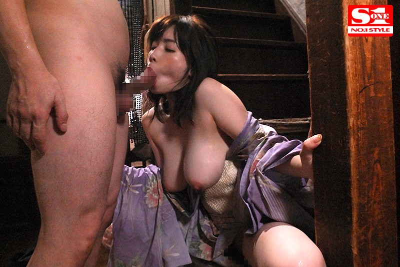 SSNI-606 There Was Nothing To Do In The Country This Summer, So I Let The Big Tits Wife From Next Door Lure Me To Temptation And Had Sweaty, Slow Sex Every Single Day Sai Okuda