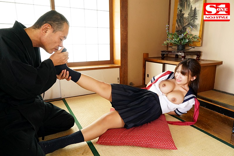 SSNI-634 A Beautiful Y********l In A Sailor Uniform With Colossal Tits Gets V*****ed By Middle-Aged Maniacs – Shion Yuumi