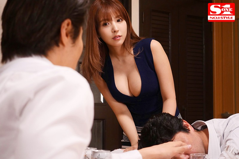[SSNI-703] Slow Secret Sex In Bed With My Boss's Big Titted Wife Yua - Yua Mikami