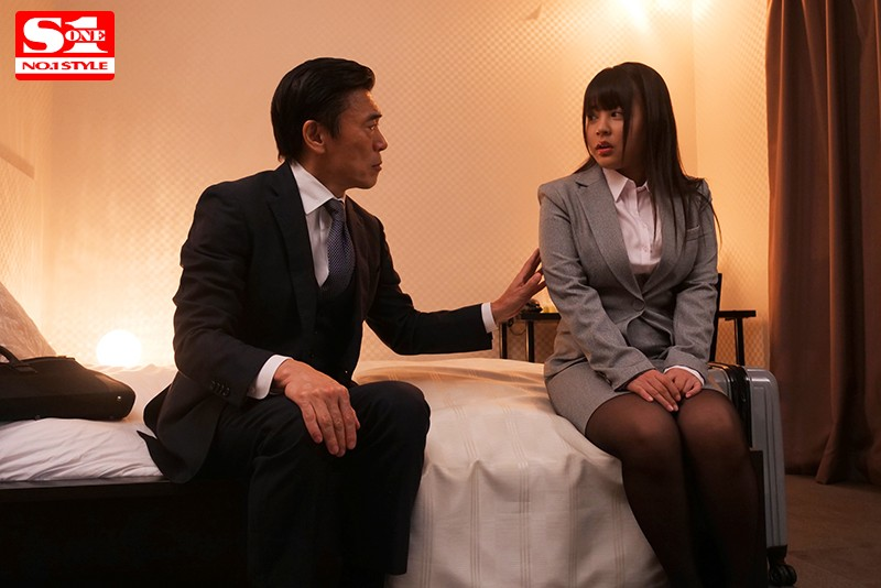 [SSNI-859] This Colossal Tits Female Employee Was With Her Orgasmic Boss Sharing A Hotel Room During Their Business Trip... And She Spent The Night Get Fucked From Morning Until Evening Shion Yumi