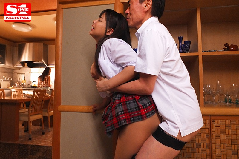 SSNI-901 Alone With Our Stepdad For 100 Days – We Can't Live Without His Amazing Cock Any Longer… Miru Sakamichi Shion Yumi