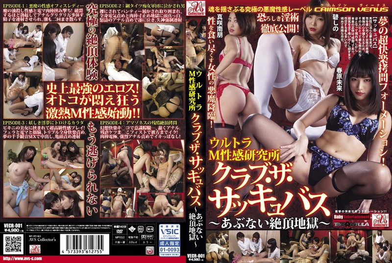 VECR-001 jav hd stream Ultra Masochist Laboratory – Club: The Succubus~ Dangerous Climax Hell