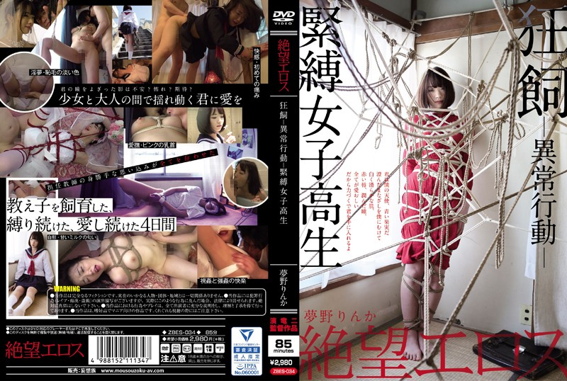 ZBES-034 Eros Company Of Despair Rinka Yumeno Insane And Abnormal Domestication Bondage Honor Roll
