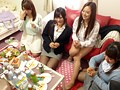 Everybody Gets Naked For A Creampie Orgy At The Company Girls Dorm preview-19