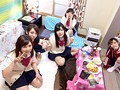 Everybody In A Schoolgirl Dorm Takes Part In A Creampie Orgy preview-1