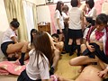 Everybody In A Schoolgirl Dorm Takes Part In A Creampie Orgy preview-10